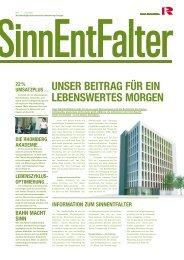 schiedene Varianten ökologisch und ökono - Rhomberg Bau GmbH