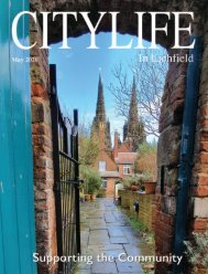 Citylife in Lichfield May 2020
