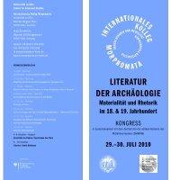 30. JULI 2010 - Internationales Kolleg Morphomata - Universität zu ...