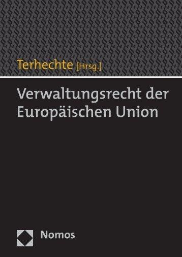 Verwaltungsrecht der Europäischen Union - Zum Nomos-Shop