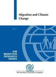 Migration and Climate Change - DRC Migration, Globalisation and ...