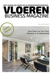 Vloeren Business Magazine Online special - your floor