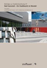 Stadtentwicklung - Bad Cannstatt Portal