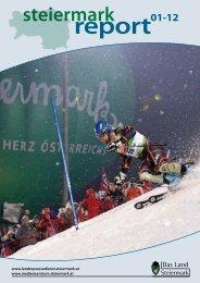Steiermark Report Jänner 2012 - doppelseitige Ansicht (für größere