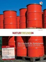 Ausgabe 3-2008 - NaturFreunde Deutschlands