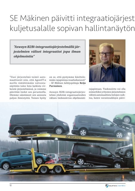 Kuljetus & Logistiikka 2 / 2020