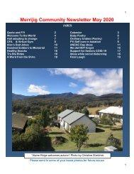 85c May 2020 Merrijig community Newsletter