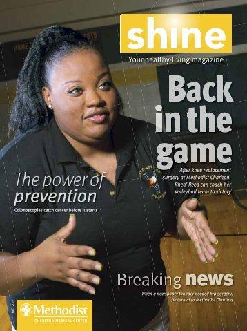 Charlton Shine - Methodist Health System