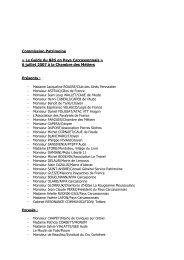 Commission Patrimoine - Le Pays Carcassonnais