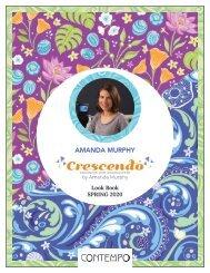 Crescendo by Amanda Murphy Lookbook Spring 2020