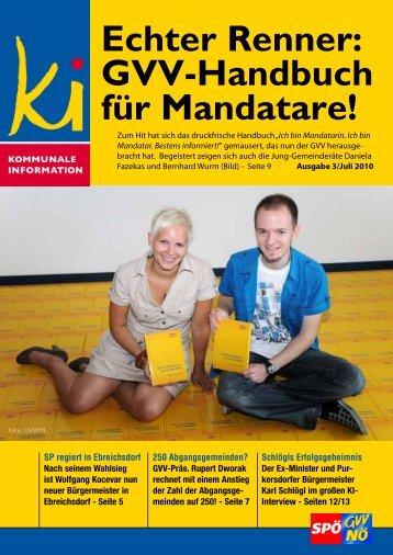 Echter Renner: GVV-Handbuch für Mandatare! - SPÖ ...