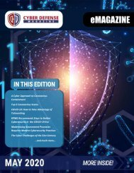 Cyber Defense eMagazine May 2020 Edition