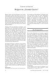 """Belgien im """"Grande Guerre"""" - Themenportal Erster Weltkrieg"""