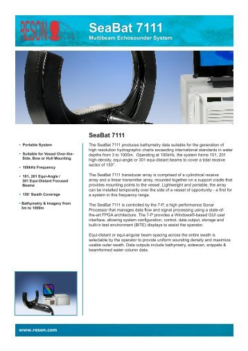 SeaBat 7111