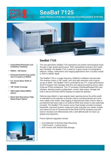 SeaBat 7125