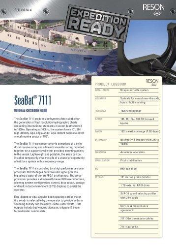 SeaBat 7111 - Reson