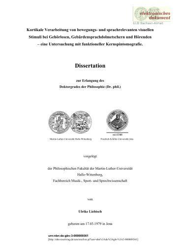 Dissertationen uni halle - Top Quality Writing Help & School Essays
