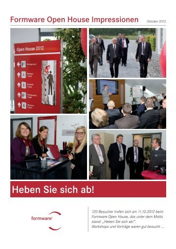 After-Event-Zeitung - Formware GmbH