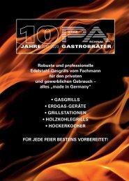 Katalog PA Gastrobräter 2020/2021