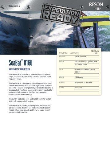 SeaBat 8160 - Reson
