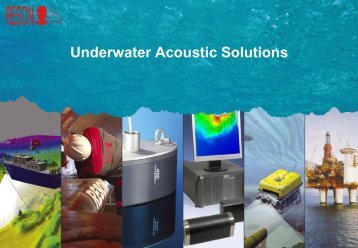 Reson : underwater acoustic solutions