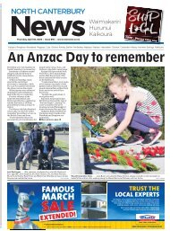 North Canterbury News: April 30, 2020