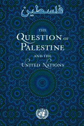The question of Palestine and the United Nations - UNISPAL