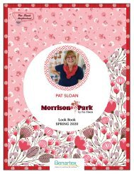 Morrison Park by Pat Sloan Look Book Spring 2020