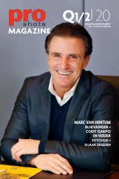Pro Shots Magazine Q1/2 2020