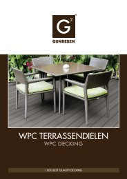 Gunreben WPC Terrassendielen