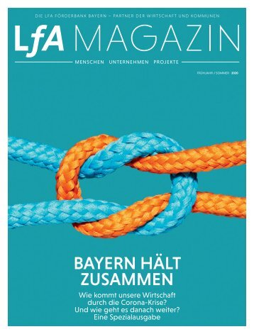LfA Magazin Spezialausgabe Corona