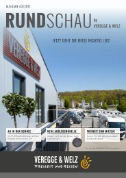 Veregge & Welz RUNDSCHAU - Ausgabe 02/2017