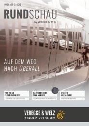Veregge & Welz RUNDSCHAU - Ausgabe 01/2019