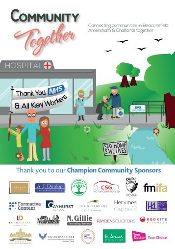 Community Together - May/June Issue combining Beaconsfield Together & Amersham & Chalfont's Together