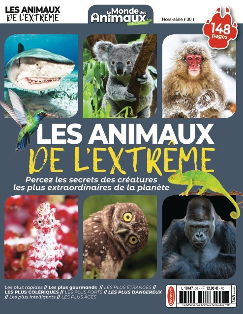 Les animaux de l'extrême