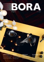BORA Magazin 01|2020 – Deutsch