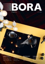 BORA Magazine 01|2020 – English