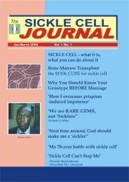 JOURNAL - African Sickle Cell News & World Report