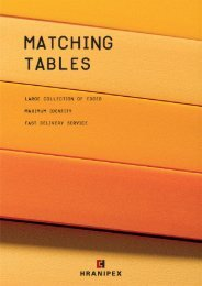 Complete matching tables