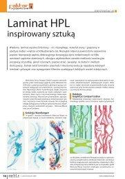 Laminat Resopal Inspirowany sztuką MMIA 2009.4 - LAMINart
