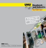 Handwerk und Industrie - bei UHU Industrie und Handwerk