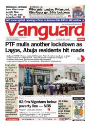 05052020 - PTF mulls another lockdown as Lagos, Abuja residents hit roads