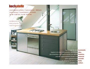 download pdf - Kochstelle