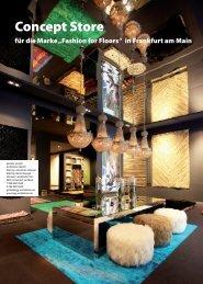 """Concept Store für die Marke """"Fashion for Floors"""" in Frankfurt am Main"""