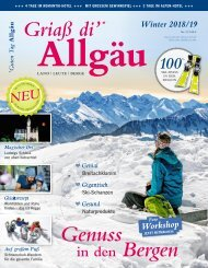 Griaß di' Allgäu Winter 2018/2019
