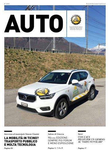 Rivista dell'Automobile Club Svizzero 01/2020