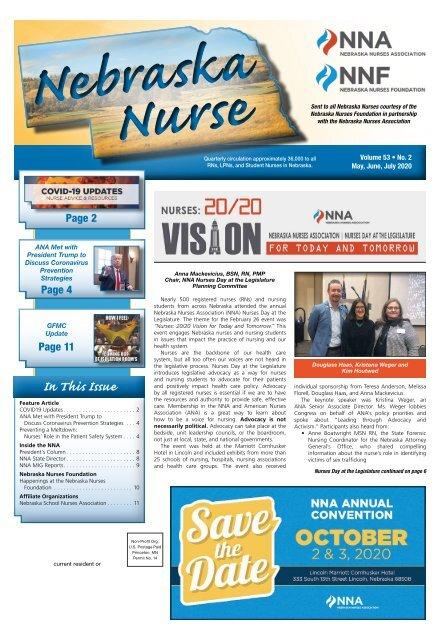 Nebraska Nurse - May 2020