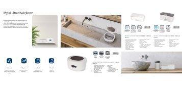 Blaupunkt - Katalog Myjki ultradźwiękowe