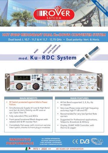 Ku-DOWN CONVERTER SYSTEM