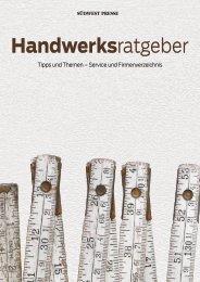 2020/19 - Handwerksratgeber